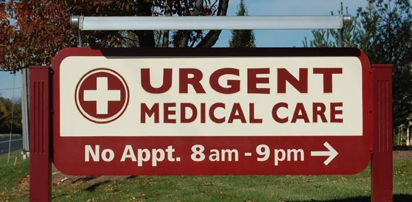 Urgent Care Center Sign
